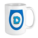Democrat Doo Doo Economics Large Mug