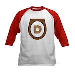 Brown Democrat Doo Doo Economics Kids Baseball Jer