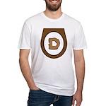 Brown Democrat Doo Doo Economics Fitted T-Shirt