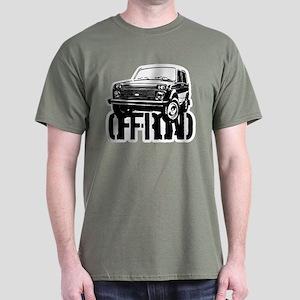 Lada Niva off-road Dark T-Shirt