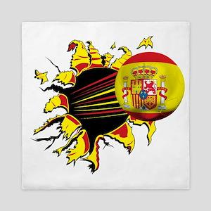 Spain Football Queen Duvet