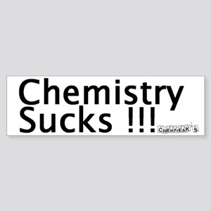 Chemistry Sucks Bumper Sticker