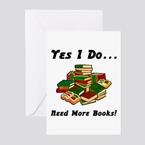 More Books! Greeting Cards (Pk of 10)