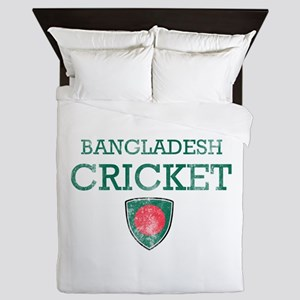 Bangladesh Cricket designs Queen Duvet