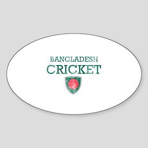 Bangladesh Cricket designs Sticker (Oval)