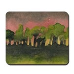 The Woods I Pink Mousepad