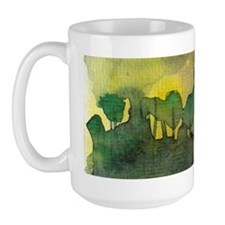 The Woods II Large Mug