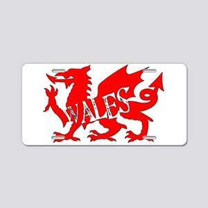 WALES DRAGON Aluminum License Plate