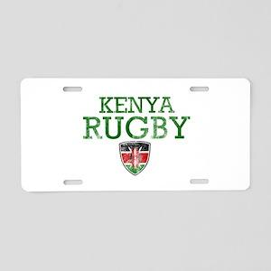 Kenya Rugby designs Aluminum License Plate