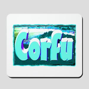 corful artwork illustration Mousepad