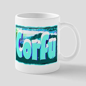 corful artwork illustration Mug