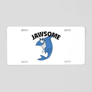 JAWSOME Aluminum License Plate