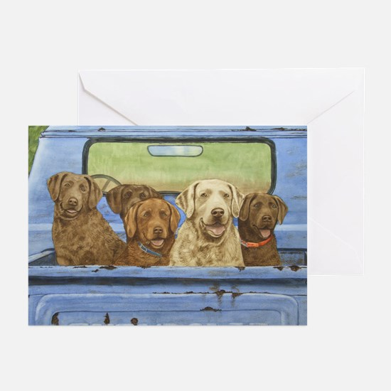 """""""Truckload of Chessies"""" Note Cards (Pk of 10)"""