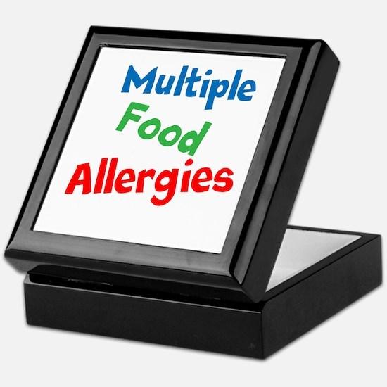 Multiple Food Allergies Keepsake Box