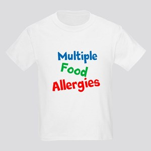 Multiple Food Allergies Kids Light T-Shirt