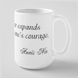 Anais Nin Large Mug