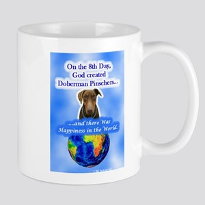8th Day -RecMag -Doberman,RustNat Mugs