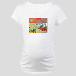 A bad feeling Maternity T-Shirt