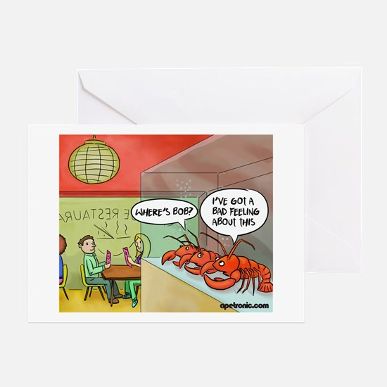 A bad feeling Greeting Card