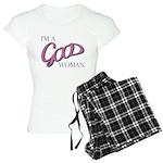 I_m_A_Good_Woman Design 2 Women's Light Pajama