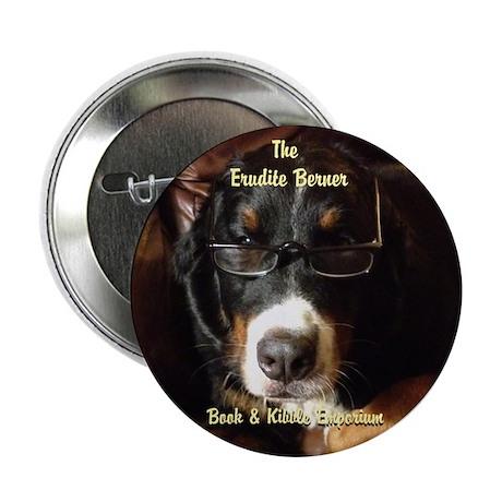 """Erudite Berner Bk Store 2.25"""" Button (100 pack)"""