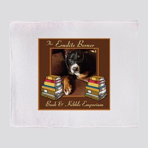 Erudite Berner Bk Store Throw Blanket