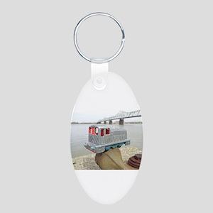 2012-02-22 12.58 Aluminum Oval Keychain