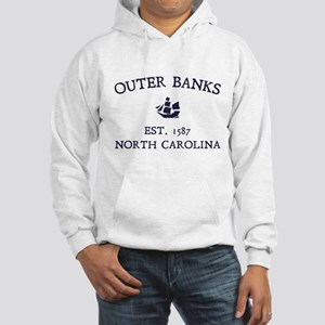 Outer Banks Established 1587 Hooded Sweatshirt