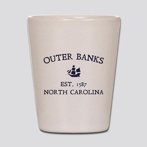 Outer Banks Established 1587 Shot Glass