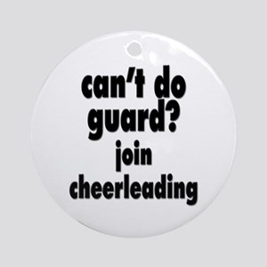 Can`t do guand Ornament (Round)