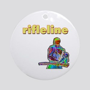 Rifleline Ornament (Round)