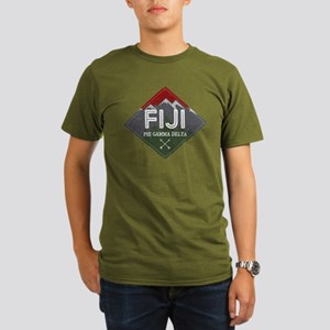 Phi Gamma Delta Mount Organic Men's T-Shirt (dark)