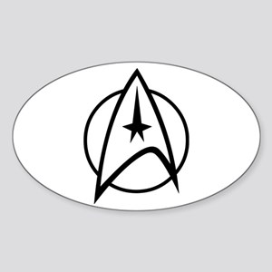 Starfleet Sticker (Oval)
