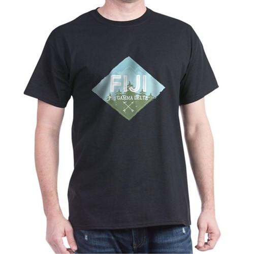 Phi Gamma Delta Mountains Diamond Blu T-Shirt