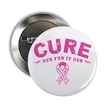 """Cure - Run For It Run 2.25"""" Button"""