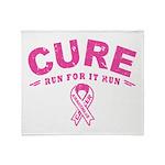 Cure - Run For It Run Throw Blanket