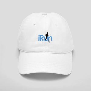 iRun in Blue Cap