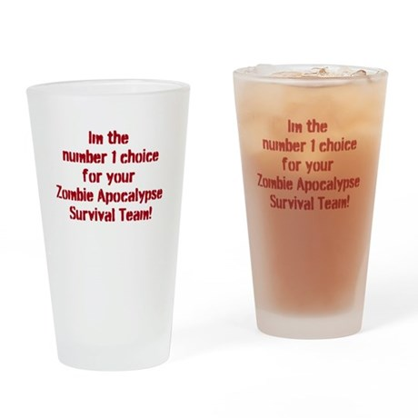 Number 1 Choice Drinking Glass