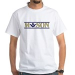 Masons White T-Shirt