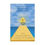 Masons Mini Poster Print