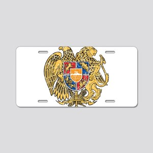 Armenia Coat Of Arms Aluminum License Plate