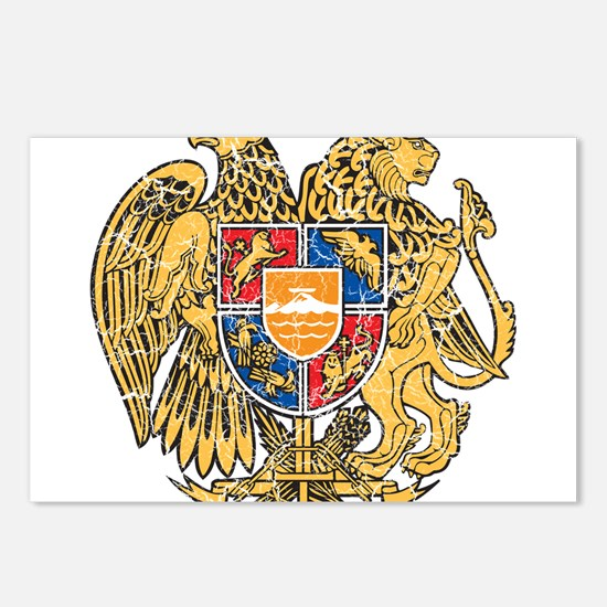 Armenia Coat Of Arms Postcards (Package of 8)