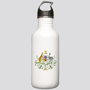 Australia Coat Of Arms Stainless Water Bottle 1.0L