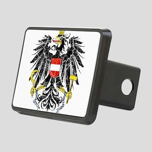 Austria Coat Of Arms Rectangular Hitch Cover