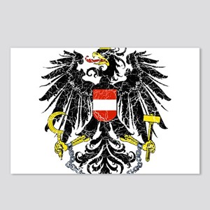 Austria Coat Of Arms Postcards (Package of 8)