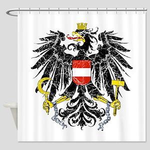Austria Coat Of Arms Shower Curtain