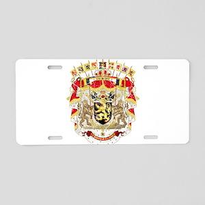 Belgium Coat Of Arms Aluminum License Plate