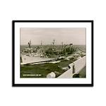 USS NANTAHALA Framed Panel Print