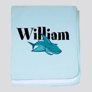 William Shark baby blanket