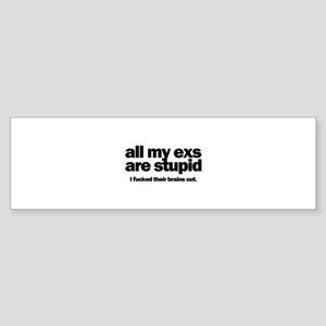 All My Exs Sticker (Bumper)